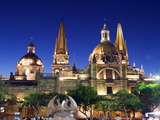 Cathedral in Plaza De Armas, Guadalajara, Mexico, North America Photographic Print by Christian Kober