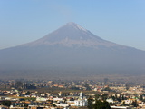Volcan De Popocatepetl, 5452M, Cholula, Puebla State, Mexico North America Photographic Print by Christian Kober