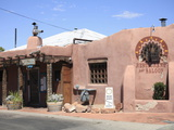 Restaurant and Saloon, Adobe Architecture, Old Town, Albuquerque, New Mexico Photographic Print by Wendy Connett