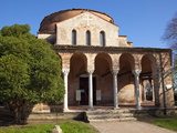 Santa Fosca, a Byzantine Church Dating From the 11Th and 12Th Centuries, Torcello, Venice Photographic Print by Peter Barritt