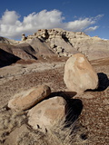 Boulders in the Badlands, Petrified Forest National Park, Arizona Photographic Print by James Hager