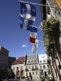 Place Royale in Old Quebec, Quebec City, Quebec, Canada, North America Photographic Print by Donald Nausbaum
