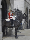 A Horse Guard in Whitehall, London, England, United Kingdom, Europe Photographic Print by James Emmerson