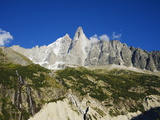 Aiguilles Du Dru, Mont Blanc Range, Chamonix, French Alps, France, Europe Photographic Print by Christian Kober