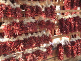 Dried Red Chillies, Chili Ristras, Santa Fe, New Mexico, United States of America, North America Photographic Print by Wendy Connett
