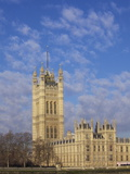 Houses of Parliament, UNESCO World Heritage Site, Westminster, London, England Photographic Print by Michael Kelly
