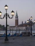 Dawn Light on San Giorgio Maggiore, Venice, UNESCO World Heritage Site, Veneto, Italy, Europe Photographic Print by James Emmerson