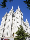 Mormon Temple in Temple Square, Salt Lake City, Utah, United States of America, North America Photographic Print by Richard Cummins