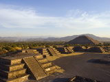 Pyramid of the Sun at Teotihuacan, Valle De Mexico, Mexico, North America Photographic Print by Christian Kober