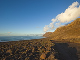 Volcanic Cliffs of the Risco De Famara and Graciosa Island, Canary Islands Photographic Print by Robert Francis