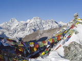 Cho La Pass, Solu Khumbu Everest Region, Sagarmatha National Park, Himalayas, Nepal, Asia Photographic Print by Christian Kober