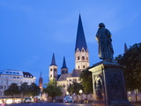 Bonn Cathedral (Bonner Munster) (Bonn Minster), Bonn, North Rhineland Westphalia, Germany, Europe Photographic Print by Christian Kober
