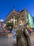 Teatro Juarez, Guanajuato, Guanajuato State, Mexico, North America Photographic Print by Christian Kober