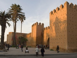City Walls Surrounding the Medina, Rabat, Morocco, North Africa, Africa Photographic Print by Graham Lawrence