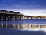 Crystal Pier on Pacific Beach, San Diego, California, United States of America, North America Photographic Print by Richard Cummins