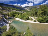 River Verdon, Gorge Du Verdon, Provence, France, Europe Photographic Print by David Wogan