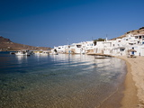 Cape Tarsanas, Mykonos, Cyclades, Greek Islands, Greece, Europe Photographic Print by Sergio Pitamitz