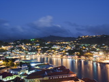 Harbour and Town Houses, St. George's, Grenada, Windward Islands, West Indies, Caribbean Photographic Print by Christian Kober