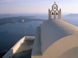 Imerovigli, Island of Santorini (Thira), Cyclades Islands, Aegean, Greek Islands, Greece, Europe Photographic Print by Sergio Pitamitz