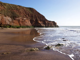 Exmouth Cliffs, Exmouth, Devon, England, United Kingdom, Europe Photographic Print by Jeremy Lightfoot