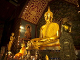 Wat Suan Dok, Chiang Mai, Chiang Mai Province, Thailand, Southeast Asia, Asia Photographic Print by Michael Snell