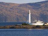 Lismore Lighthouse From the Craignure-Oban Ferry, Highlands, Scotland, United Kingdom, Europe Reproduction photographique par Patrick Dieudonne