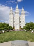 Mormon Temple on Temple Square, Salt Lake City, Utah, United States of America, North America Photographic Print by Richard Cummins