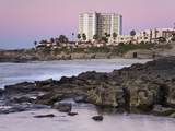 Coastline at Sunset, La Jolla, San Diego County, California, USA Photographic Print by Richard Cummins