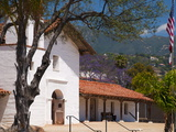 Presidio Chapel, El Presidio De Santa Barbara, Santa Barbara, California Photographic Print by Alan Copson