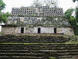Mayan Ruins, Yaxchilan, Chiapas State, Mexico, North America Photographic Print by Christian Kober