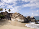 The Baths, Large Granite Boulders, Virgin Gorda, British Virgin Islands, West Indies, Caribbean Photographic Print by Donald Nausbaum