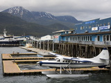Seaplane in Juneau, Southeast Alaska, USA Photographic Print by Richard Cummins