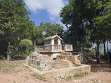 Cemetery, Jacmel, Haiti, West Indies, Caribbean, Central America Photographic Print by Christian Kober