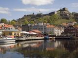 Harbour and Fredriksten Fort, Halden, Ostfold, Norway, Scandinavia, Europe Photographic Print by Rolf Richardson