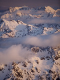 Olympic Mountain Range, Olympic National Park, UNESCO World Heritage Site, Washington State, USA Photographic Print by Colin Brynn