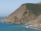 Big Creek Bridge Scenic, Big Sur, California, USA Photographic Print by Michael DeFreitas