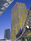 Monorail and Veer Towers at Citycenter, Las Vegas, Nevada, United States of America, North America Photographic Print by Richard Cummins