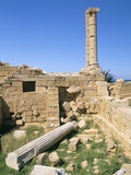 Leptis Magna, UNESCO World Heritage Site, Tripolitania, Libya, North Africa, Africa Photographic Print by Sergio Pitamitz