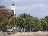 Monument of Fray Anton De Montesinos, Santo Domingo, Dominican Republic, West Indies Photographic Print by Christian Kober