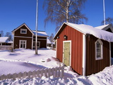 Gammelstad (Lulea Old City) UNESCO World Heritage Site, Lapland, Sweden, Scandinavia, Europe Photographic Print by Sergio Pitamitz