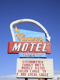 Motel, Route 66, Albuquerque, New Mexico, United States of America, North America Photographic Print by Wendy Connett