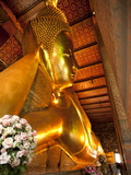 Reclining Buddha, Wat Pho, Bangkok, Thailand, Southeast Asia, Asia Photographic Print by Michael Snell