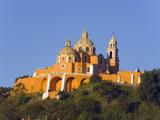 Santuario De Nuestra Senora De Los Remedios, Cholula, Puebla State, Mexico North America Photographic Print by Christian Kober