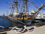 Hms Surprise at the Maritime Museum, Embarcadero, San Diego, California, USA Photographic Print by Richard Cummins