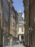 Exploring the Old Town, Stockholm, Sweden, Scandinavia, Europe Photographic Print by James Emmerson