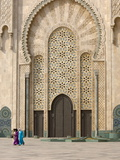 Hassan Ii Mosque, Casablanca, Morocco, North Africa, Africa Photographic Print by Graham Lawrence