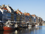 Boats in Nyhavn Harbour, Copenhagen, Denmark, Scandinavia, Europe Photographic Print by Christian Kober