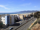 Pacific Coast Highway, Santa Monica, Los Angeles, California Photographic Print by Wendy Connett