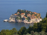St. Stefan Near Budva, Montenegro, Europe Photographic Print by John Miller