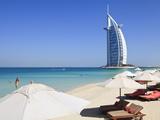 The Iconic Burj Al Arab Hotel, Jumeirah, Dubai, United Arab Emirates, Middle East Photographic Print by Amanda Hall